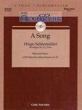 Schlemuller-A Song, Double Bass & Pn w/CD