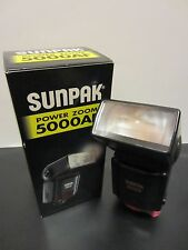 Sunpak Power Zoom 5000 AF Flash