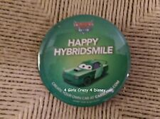 "Disney Parks 3"" Button New Calif. Adventure Radiator Springs Carsland Happy"