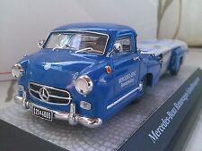 Mercedes-Benz Rennwagen-Schnelltransporter Truck Diecast Model Car 1/43 Premium