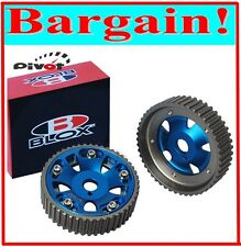 BLOX ADJUSTABLE CAM GEAR PULLEY for TOYOTA SUPRA 1JZ 2JZ INTAKE & EXHAUST GEARS