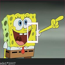 Sponge Bob Square Pants Interruptor De Luz Tapa Sticker Decal-Digital Impreso