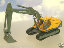 SUPERB DIECAST 1/87 HO VOLVO EC210 TRACKED EXCAVATOR/DIGGER ORANGE BY MOTORART