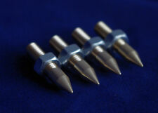 --UK Made--Speaker Spikes-M6 Solid-for HIFI RacksAndSubwoofers BRASS