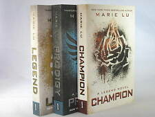 Legend Trilogy Novels by Marie Lu (Books 1-3 in the Series) BRAND NEW
