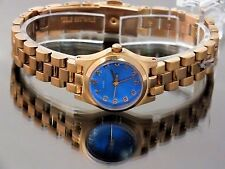 Marc by Marc Jacobs Watch Ladies Designer MBM3204 Rose Gold Classic Blue Dial
