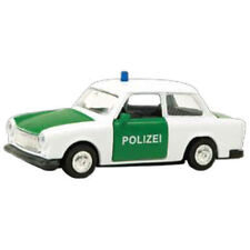 WELLY MODELL TRABANT POLIZEI Welly Modell 1:34-39 NEU & OVP