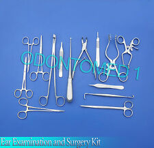 Ear Examination and Surgery Kit Surgical Instruments-ODM-540