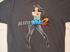 Mafia Wars 2 Being Bad Never Felt So Good Mobile Game Soft Dark Gray T Shirt XL