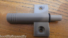 2 GREY PLASTIC CUPBOARD DOOR DAMPER BUFFER SOFT CLOSER CLOSE ANTI SLAM KITCHEN