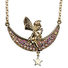 NEW KIRKS FOLLY FAIRY MOON DREAMER NECKLACE GOLDTONE