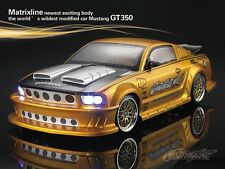 1/10 Ford Mustang GT350 200mm RC Car Transparent Body Strong Polycarbonate