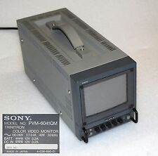 SONY PVM-6041QM TRINITRON COLOR VIDEO STUDIO MONITOR BROADKAST #I604