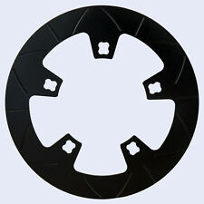 Lyndall black composite ceramic front rotor for 2014 2015 2016 Harley Touring