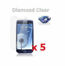 5 x Diamond Sparkling Glitter Screen Protector for Samsung Galaxy S3 III i9300