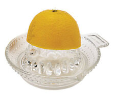 Kitchen Craft Glass Traditional Lemon Juice / Citrus Hand Juicer