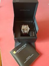 Hamilton Khaki Field Mechanical Black Dial. H69619533
