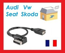 CABLE ADAPTATEUR USB MUSIC INTERFACE AMI MMI VOLKSWAGEN TIGUAN
