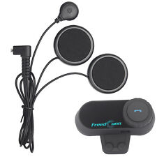 BT Moto bluetooth casco Intercom Motocicleta Interphone Auriculares FM 800M