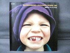 """""""REMEMBERED GOLDEN POPS 20"""" Compilation JAPAN PRESS"""