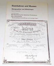 Die Finanzierung der deutschen Privatbahnen über Aktienkapital - DGEG 1977