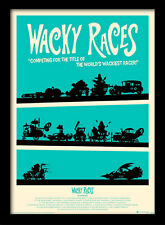 Wacky Races - Framed 30 x 40 Official Print