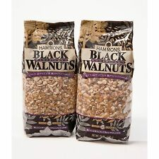 Lot of Four 24 oz. Bags HAMMONS PREMIUM QUALITY BLACK WALNUTS FANCY LARGE PIECES