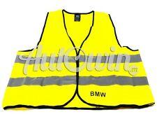 BMW Genuine Warning Vest 2PCS Warning Jacket Safety European standard yellow