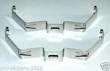 x2 NEW NSF Citadel 2 Stainless Fluorescent Light Mounting Brackets CT2-MB-2L-2