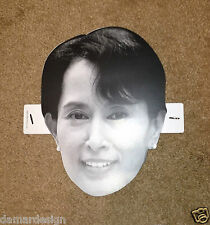 RARE (RED) AUNG SAN SUU KYI U2 360 Tour MASK WALK ON Bono ONE Campaign