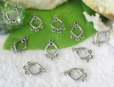 100pcs Tibetan silver 3 to 1 earring connector FC10560