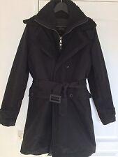 Manteau Zara Pour Homme, Noir, Taille M