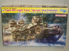 "Dragon 1/35 Scale Japanese Type 95 Light Tank ""Ha-Go"" Early Production Tank"