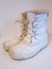 Womens SOREL Kaufman Canada Manitou Winter Warm Snow Insulated Boots Size 9