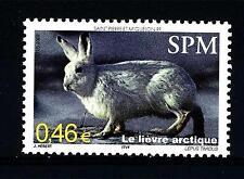 ST. PIERRE E MIQUELON - 2002 - La fauna selvatica del bosco. La lepre artica