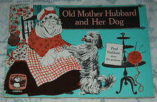 OLD MOTHER HUBBARD AND HER DOG Paul Goldone Picture Puffin 1970 ILLUSTRATED