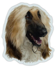 Magnetic Bumper Sticker - Afghan Hound Dog Breed Magnet - Cars, Trucks, SUVs