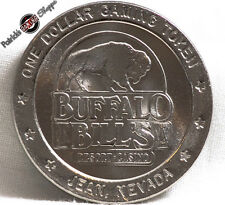 $1 SLOT TOKEN COIN BUFFALO BILL'S HOTEL CASINO 1994 GDC MINT JEAN PRIMM NEVADA