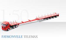 70194/0 Conrad 1:50 FAYMONVILLE Telemax 4achs MAN TGX Truck