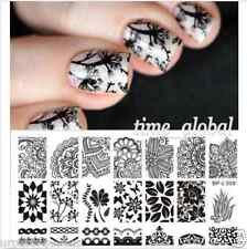 BORN PRETTY Nail Art Image Stamping Plates Stamp Template Manicure DIY BP-L008