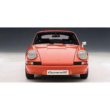 1973 Porsche 911 Carrera RS 2.7 1973 in Orange (Standard Version) in 1:18 Scale