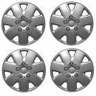 ALLOY LOOK SET OF 4 x 13 INCH SILVER WHEEL TRIMS COVERS HUB CAPS 13""