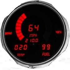 Jeep CJ 1955-1986 LED Dash Digital Speedometer Gauges Tachometer Fuel and Temp