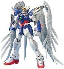 New BANDAI MG 1/100 XXXG-00W0 WING GUNDAM ZERO CUSTOM EW Plastic Gundam W Model