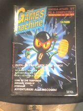 THE GAMES MACHINE 44  Luglio 1992 no zzap SENSIBLE SOCCER INDIANA JONES ZOOL