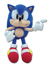"Authentic ~ 9"" Classic Sonic Great Eastern Sonic the Hedgehog Plush Brand New"