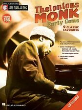 Jazz Play-Along Thelonious Monk Learn Saxophone Guitar Piano Music Book & CD