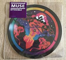 "MUSE - Invincible 7"" LIMITED UK-IMPORT Picture Disc"