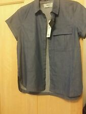 MOVES MINIMUM DARK BLUE SIZE UK 12 SHIRT NEW WITH TAGS RRP £54.00