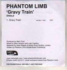 (DE53) Phantom Limb, Gravy Train - 2011 DJ CD